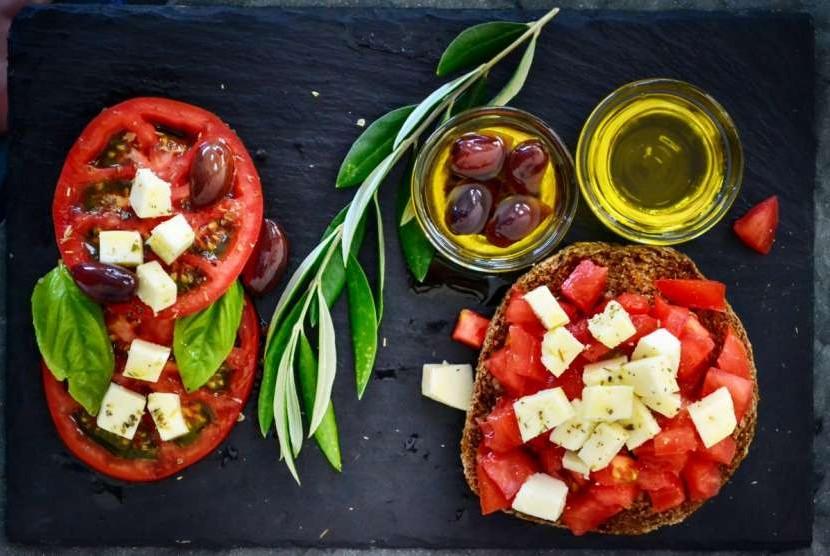 Cegah kanker. Konsumsi buah dan sayur yang kaya antioksidan bermanfaat bagi kesehatan.