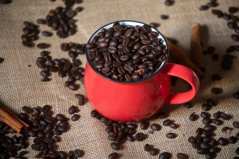 Minuman kopi. Pemuda Kampung Yoboi, Distrik Sentani, Kabupaten Jayapura, Papua diajak berkreasi untuk memunculkan racikan kopi yang unik menjelang penyelenggaraan Pekan Olahraga Nasional (PON).