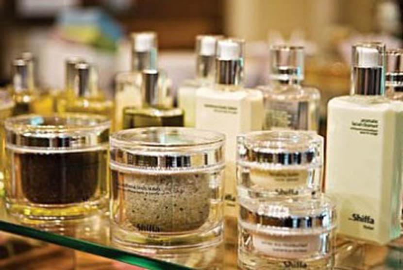 Kosmetika berlabel halal. (ilustrasi)