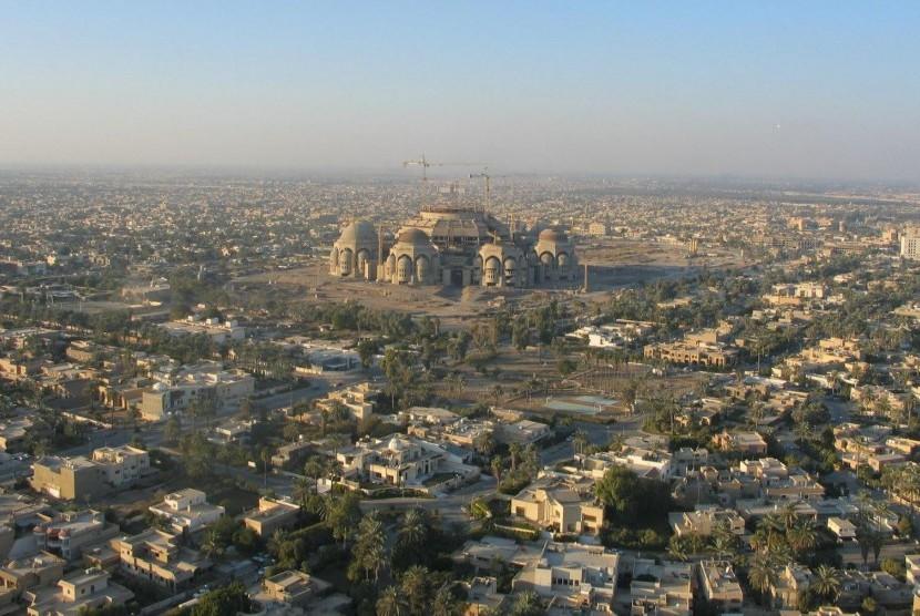 Kota Baghdad, Irak.