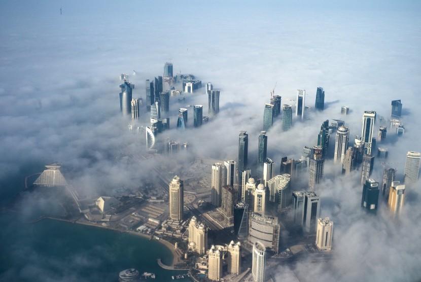 Kota Doha, Qatar.