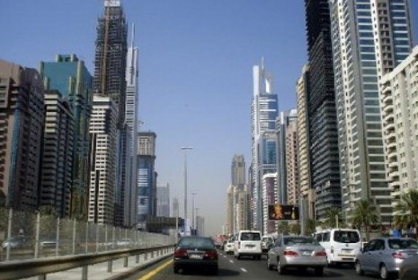 Warga Dubai yang masuk Islam berasal dari berbagai negara. Kota Dubai (ilustrasi)