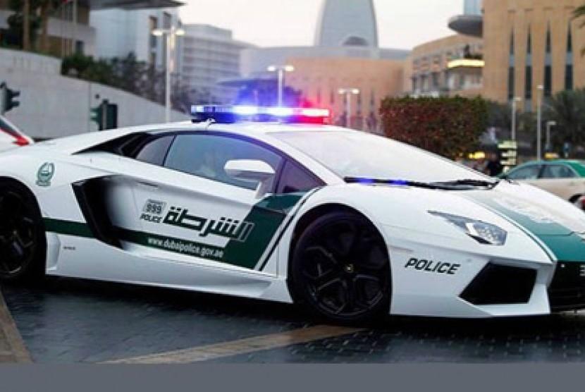 Polisi Dubai Semringah Dibekali Mobil Mewah Republika Online