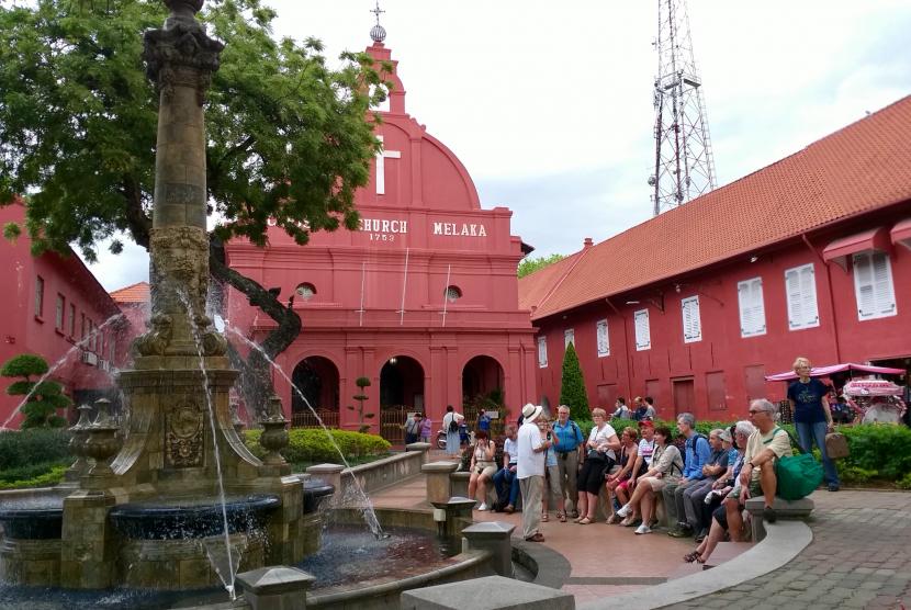 Kota Melaka menjadi salah satu destinasi wisata paling favorit di Malaysia.