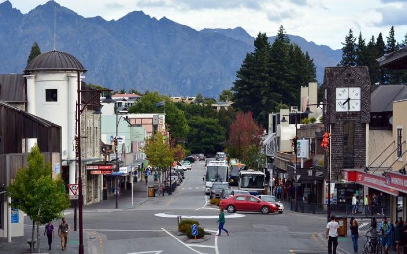 Kota Queenstown di Selandia Baru. Komunitas Muslim Queenstown di Selandia Baru akhirnya akan memiliki masjid sendiri.