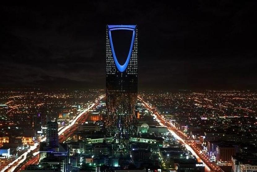 Kota Riyadh, ibu kota Kerajaan Arab Saudi.