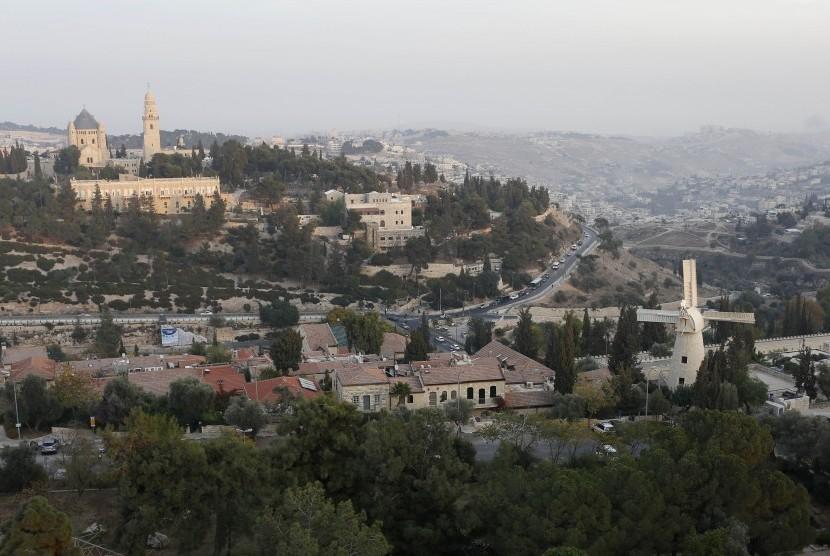 Kota tua Yerusalem, Israel, salah satu kawasan wisata di Israel.