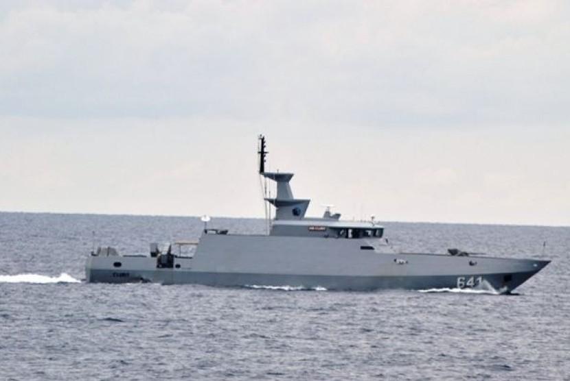 KRI Clurit, salah satu tipe kapal rudal cepat buatan Palindo Marine