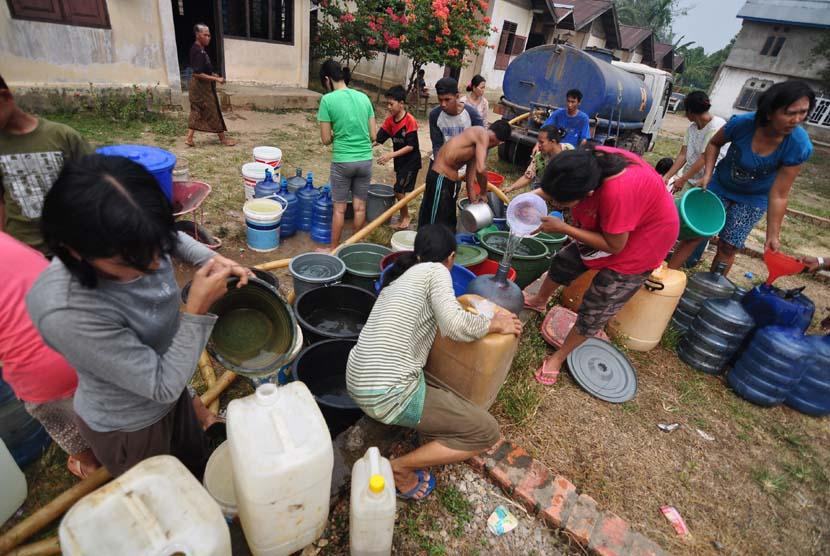 Krisis air bersih (ilustrasi)