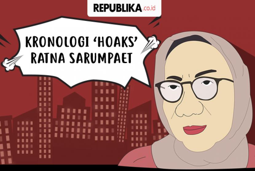 Kronologi 'hoaks' Ratna Sarumpaet.