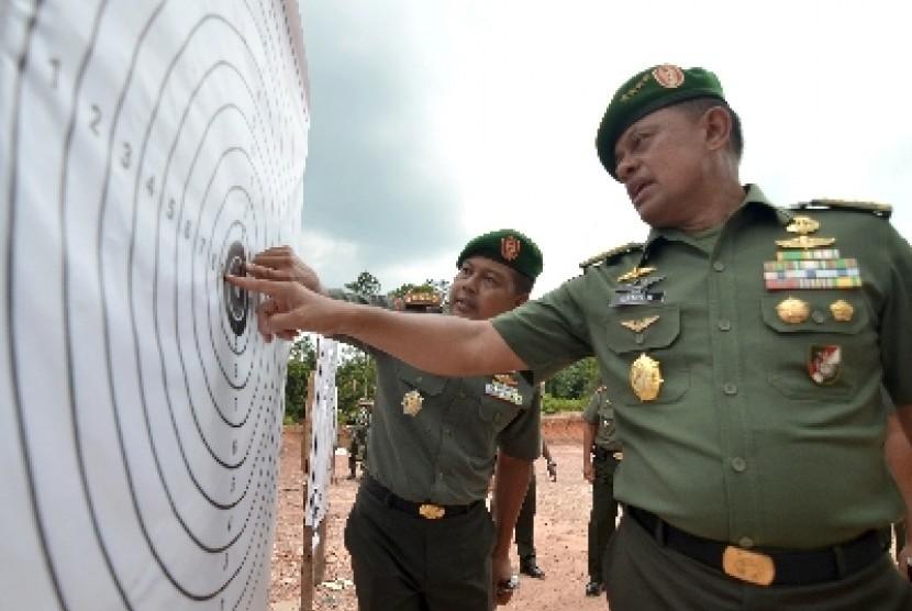 KSAD Jenderal Gatot Nurmantyo.
