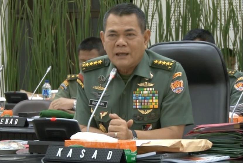 KSAD TNI AD, Jendral TNI Budiman.