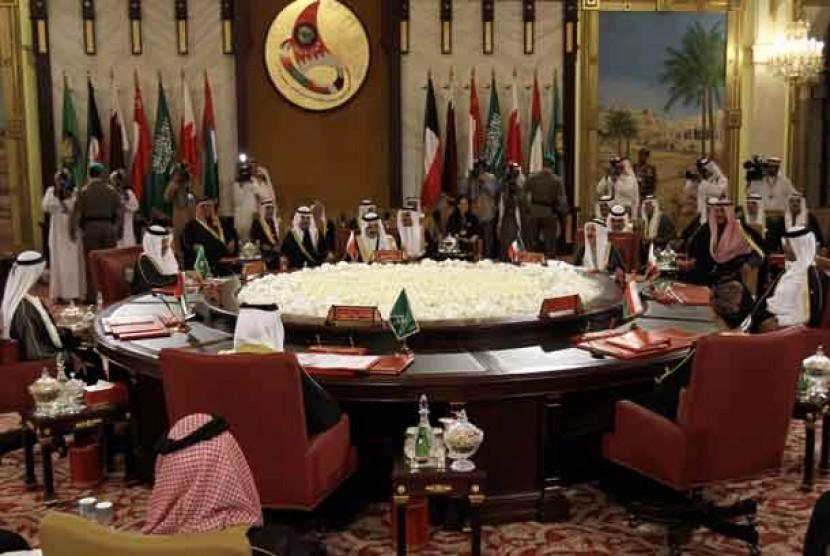 KTT Dewan Kerja Sama Teluk (GCC).