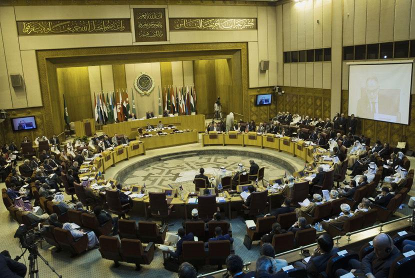 Ilustrasi pertemuan Liga Arab