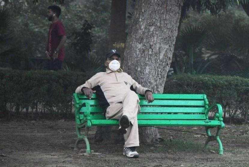 Kualitas udara di India yang semakin memburuk (ilustrasi)
