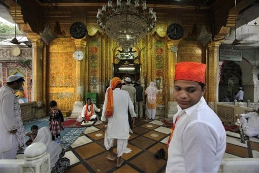Kuil di India. (Ilustrasi)
