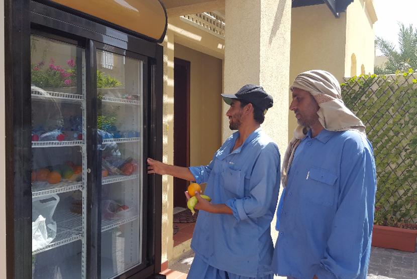 Kulkas Ramadhan di Dubai.