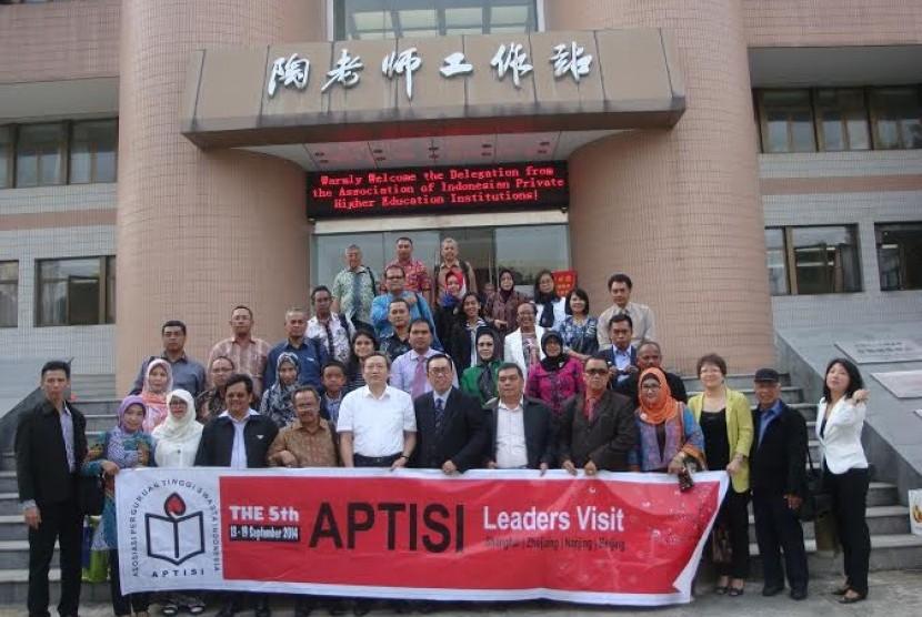 Kunjungan Aptisi dan BSI ke Cina