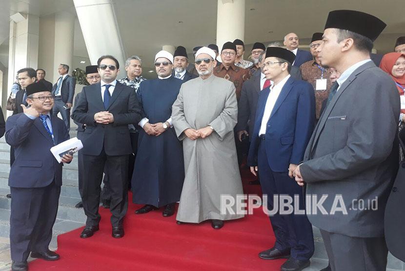 Kunjungan Grand Syekh Al Azhar, Ahmad Muhammad Ath Thayeb