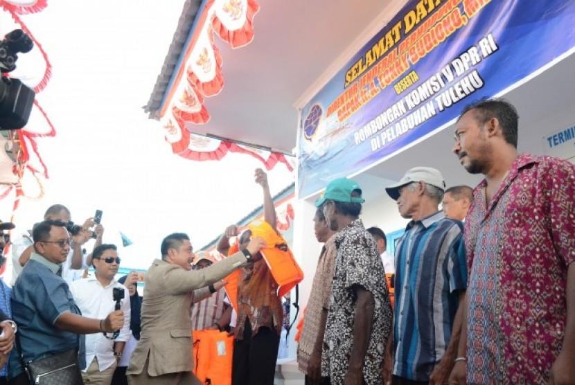 Kunjungan kerja Komisi V ke Maluku.
