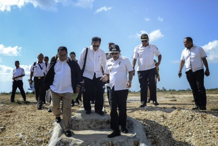 Kunjungan kerja Komisi V ke Maluku Barat Daya.