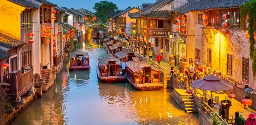 Labirin berupa jalan dan gang di kota tua Suzhou, China menyembunyikan sebuah rahasia. Kota ini menyimpan penggalan sejarah panjang Islam di China.