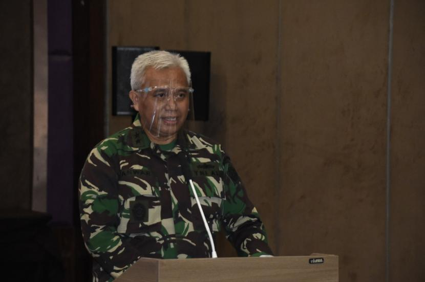 Laksamana Muda (Laksda) Anwar Saadi menjabat Jaksa Agung Muda Tindak Pidana Militer Kejaksaan Agung (Jampidmil Kejakgung).