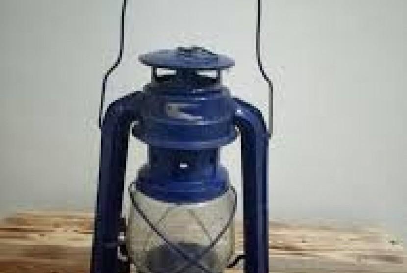 Lampu badai, ilustrasi