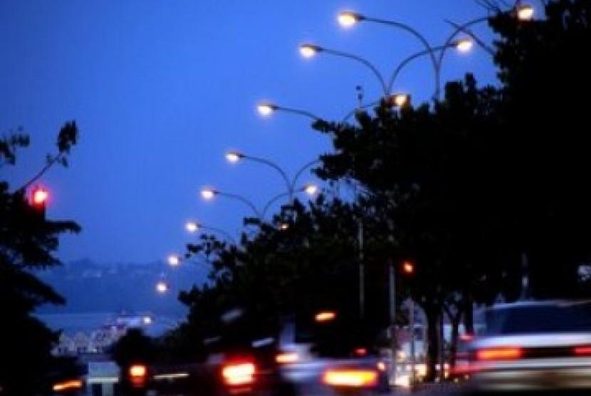 Lampu jalan, ilustrasi