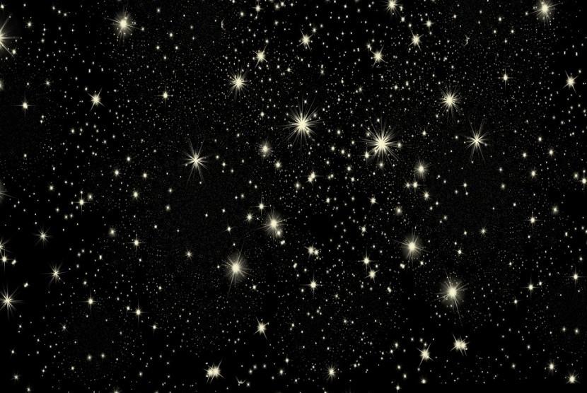 Langit malam berbintang/ilustrasi