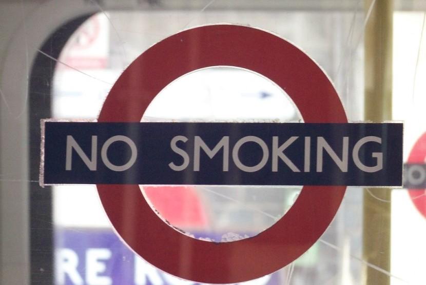 Larangan merokok.