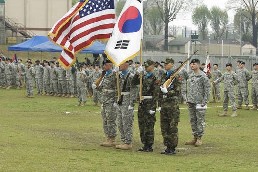 Latihan militer bersama Amerika Serikat dan Korea Selatan