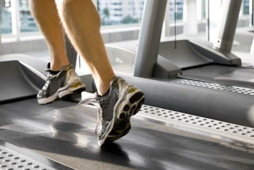 Latihan olahraga intensitas tinggi/ilustrasi