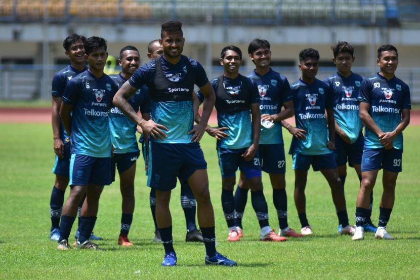 Para pemain Persib Bandung (ilustrasi).