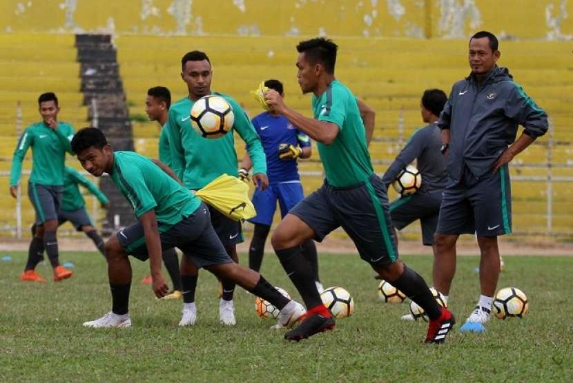 Latihan timnas U-19. (ilustrasi)