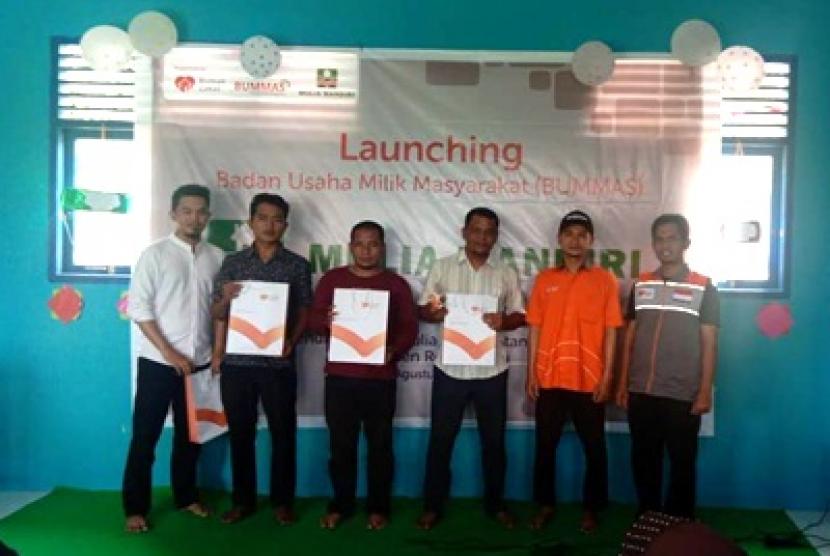 Launching Bummas Mulia Mandiri oleh Rumah Zakat.