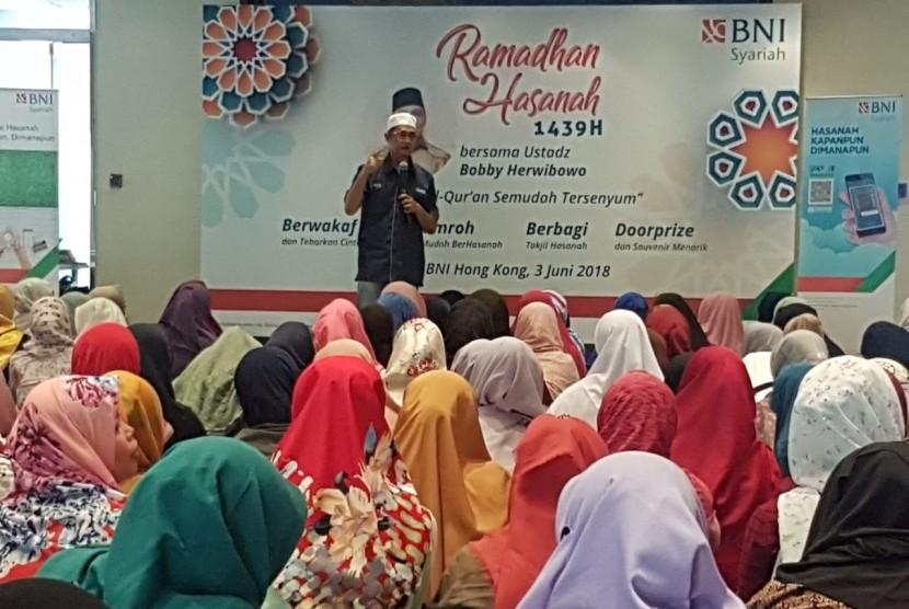 Layanan baru BNI Syariah di Hong Kong.