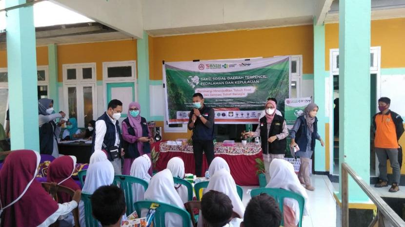 Laznas BMH melakukan kegiatan bakti sosial di Halmahera Timur, Maluku Utara, Selasa   (3/8).