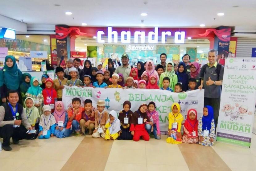 LAZNAS Inisiatif Zakat Indonesia (IZI) Perwakilan Lampung sukses laksanakan Program Paket Ramadhan Bareng Mustahik yang diikuti 48 anak yatim dan dhuafa.