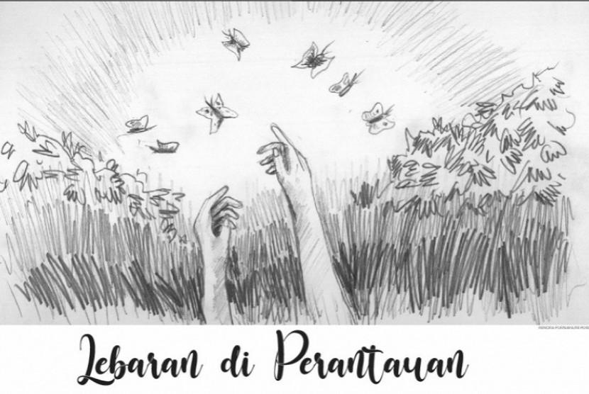 Lebaran di Perantauan (Ilustrasi cerpen)
