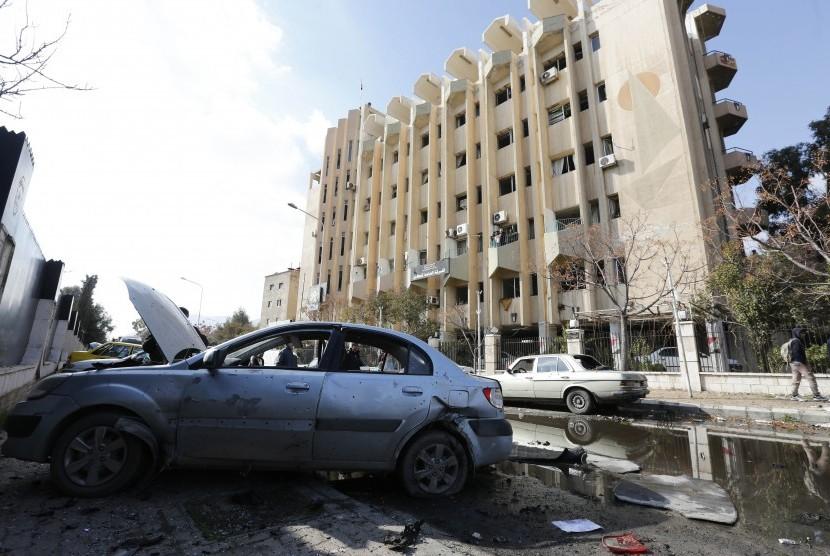 Ledakan bom di Damaskus