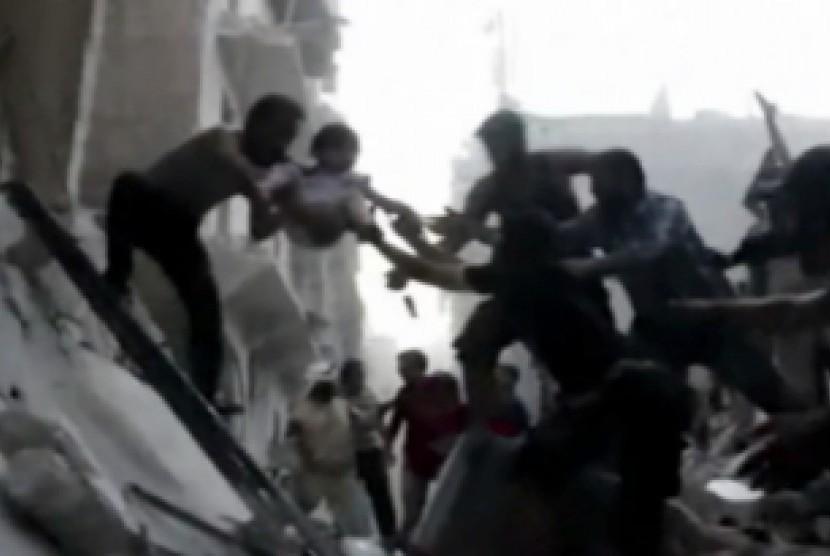 Ledakan bom di Libya