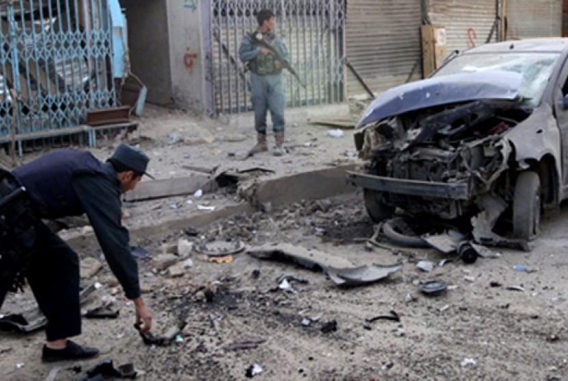 Ledakan di Kabul, Afghanistan (ilustrasi)