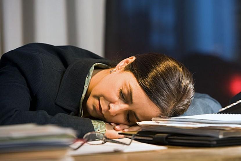Perempuan yang mudah kelelahan bisa jadi mengalami anemia defisiensi zat besi. (Ilustrasi)