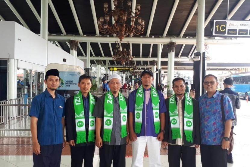 Lembaga Amil Zakat Nasional (Laznas) Inisiatif Zakat Indonesia (IZI) mengirim puluhan dai ke pelosok negeri selama Ramadhan 1439 Hijriyah.