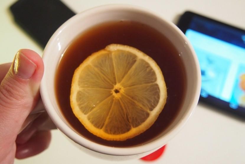 Teh Lemon Bisa Sebabkan Kerusakan Gigi Republika Online