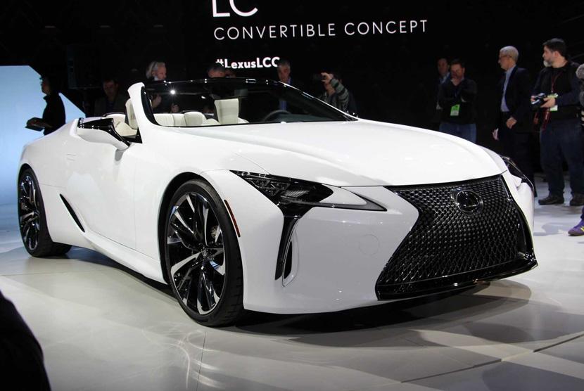 Lexus LC Convertible.