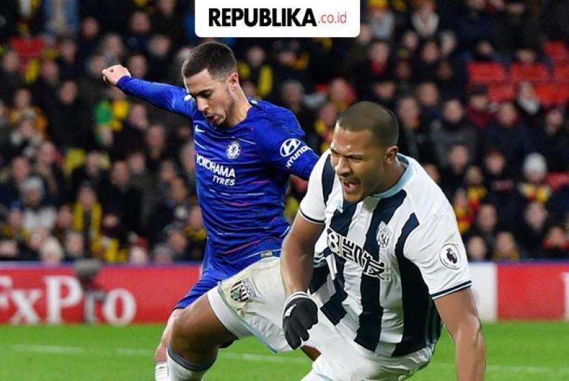 Liga Inggris Chelsea vs Newcastle United.