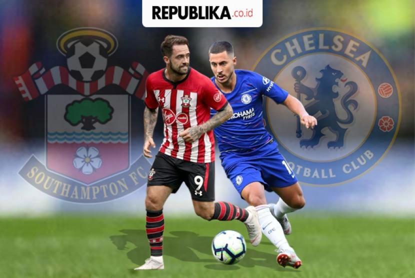 Liga Inggris, Chelsea vs Southampton.