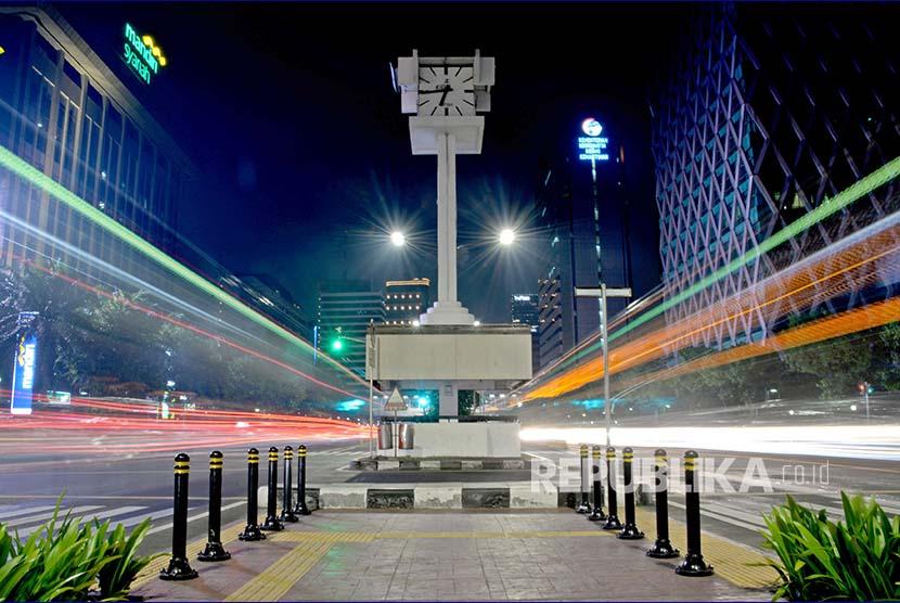 Kerlip Kota Jakarta Malam Hari Republika Online